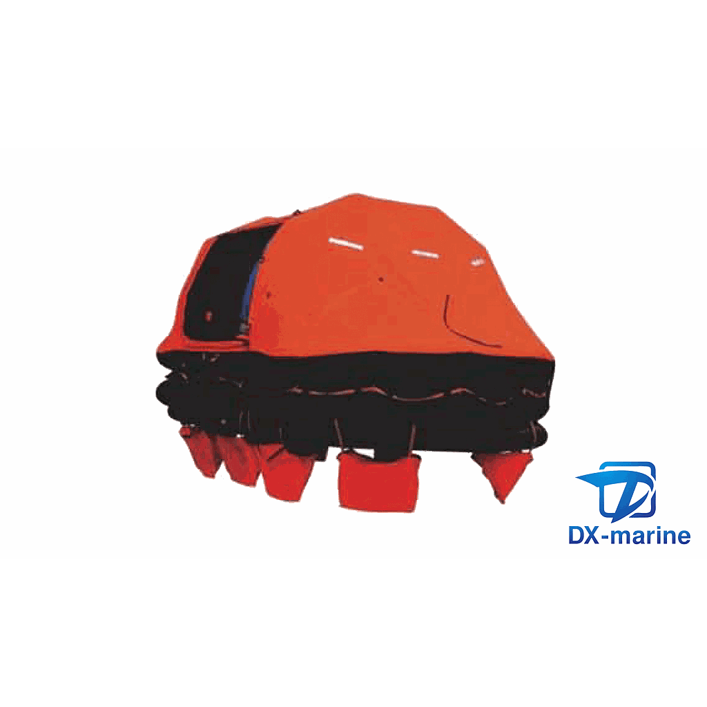Davit-launched self-righting Inflatable Liferaft DZ-12(EC/MED)