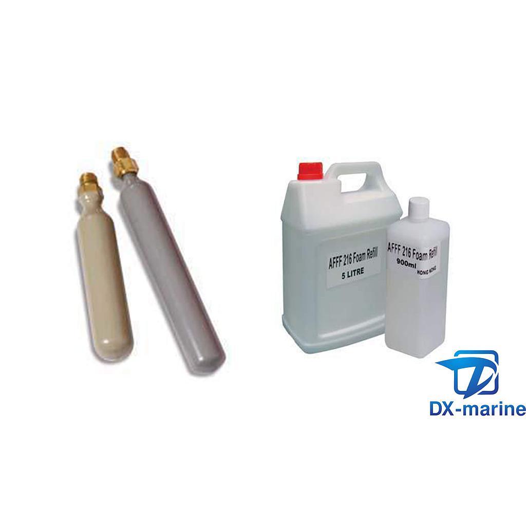 EC/MED 9L AFFF Foam  fire extinghuisher cartridge spare