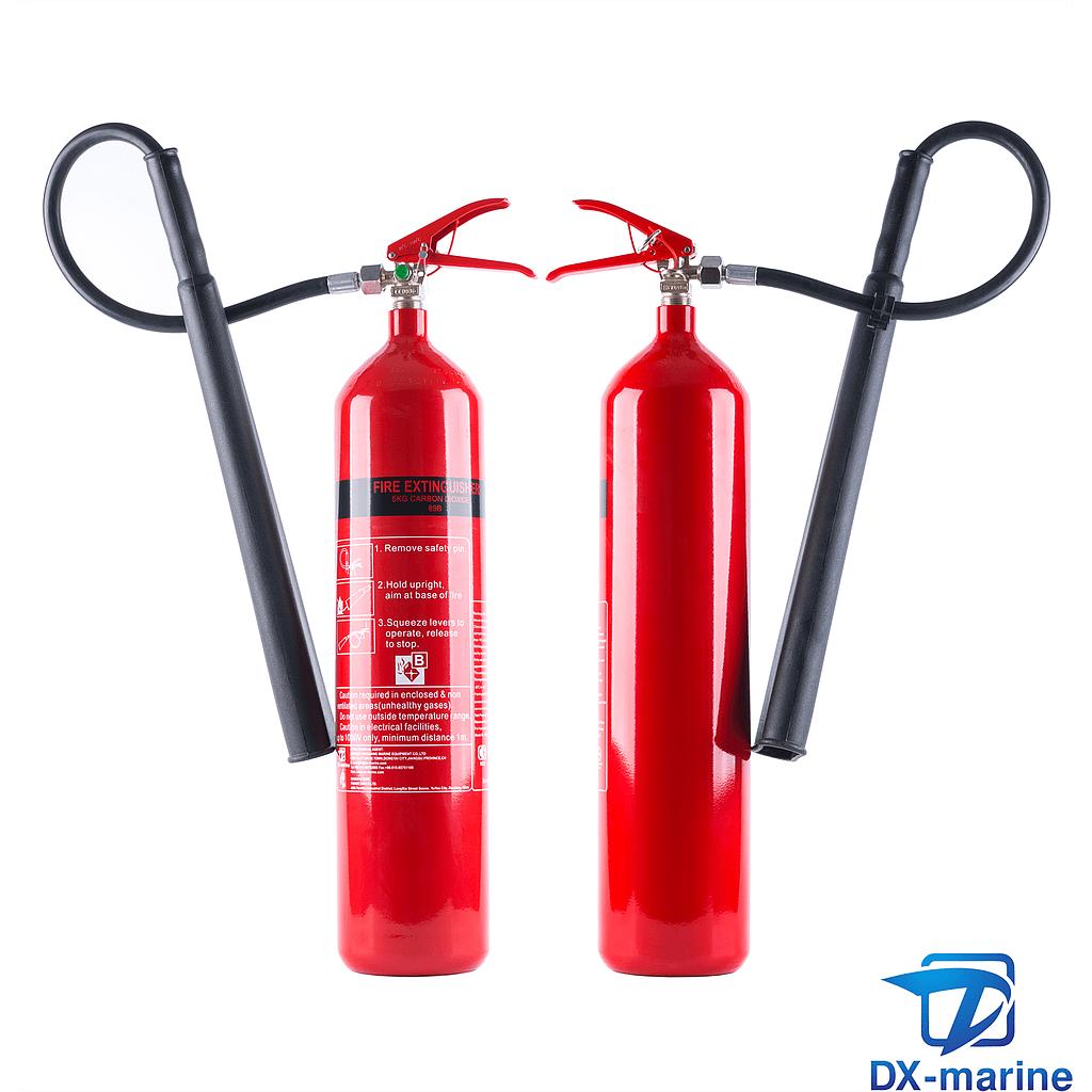 5kg CO2 fire extinguisher PSMCZ5 (EC/MED)