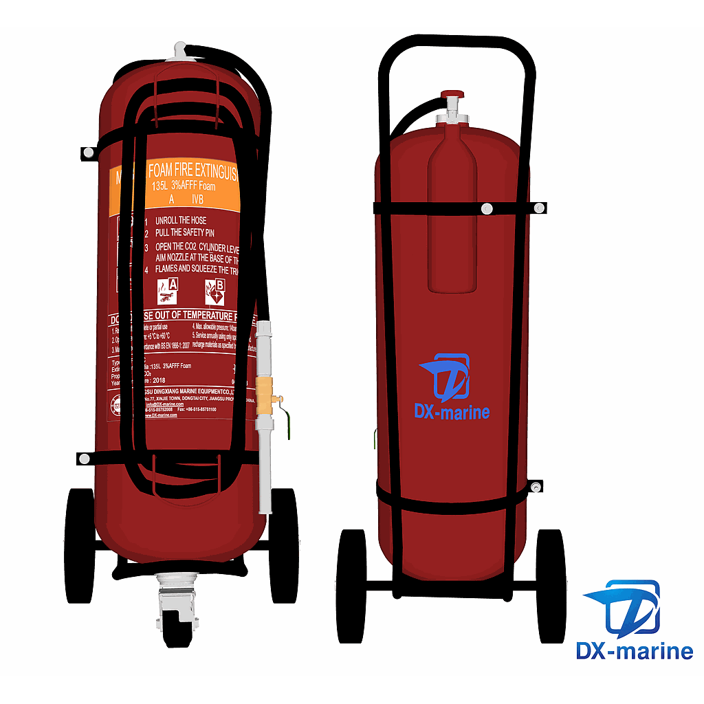 Fire Extinguisher RMF-135C mobile AFFF Foam (EC/MED)